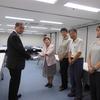 8日、共産党福島市議団とともに福島復興局長に福島市の除染、賠償で申し入れ。