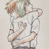 抱き合うゴロトシ コピック