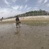 【沖縄】泡瀬の干潟で潮干狩り!【ケマンガイ】