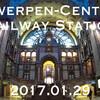 ベルギーひとり旅行記 (3) - アントウェルペン中央駅「Antwerpen-Centraal」