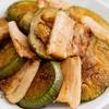 茄子と豚肉の生姜焼き丼のレシピ