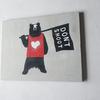 【新作】熊の絵を描きました(Don't shoot)