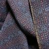 着物生地(261)抽象模様織り出し本塩沢紬