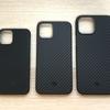 アラミド繊維で薄くて軽くて、耐衝撃性も! PITAKA iPhone12 シリーズ用ケース!