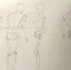 イラストで人体を描く(まずは簡単な骨格からお勉強)