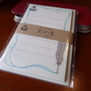 【今年買って良かった文房具】癒される美濃和紙の味わい!古川紙工『そえぶみ箋』