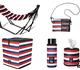自立式ポータブルハンモック、ふた付き 収納ボックス、トイレットペーパーホルダー、水筒 ミニボトル 保温保冷 ボトルカバー、サコッシュ | Danke(ダンケ)