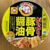 【 マルちゃん でかまる  がっつり 豚骨醤油 】このカップ麺 、間違いなく二郎系❗️