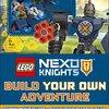 2017年8月1日新発売! 洋書「LEGO NEXO KNIGHTS Build Your Own Adventure」ミニフィギュアとブロック付き