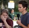 フロリダの高校乱射事件で生き残り、銃規制を訴える生徒の家族が殺害予告に遭う