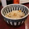 築地の「米花」でウニめし、冬瓜のかに玉あんかけ。