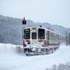 秋田内陸縦貫鉄道の雪景色を楽しむ[前編]ー寒い冬だから行きたくなった東北の旅(7)ー