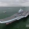 (海外反応) 中国の空母、沖縄本島南方を通過日本境