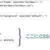 ブログを見やすくする:ソースコードを見やすくカスタマイズ ~<pre><code>タグ~