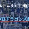 中日ドラゴンズの歴代本塁打王まとめ