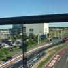 新千歳空港の道路が、
