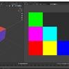 Blender2.8で複数マテリアルのカラー情報を1つのテクスチャにベイクする