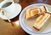 ホットサンドのモーニング!ゆったりとした時間が流れる【珈琲館まるやま】@中区円山