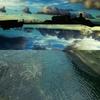抽象的な海、平行世界の青い汽笛
