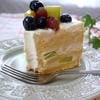 夏向けのショートケーキ