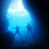 ♪OS砲とPADIアドバンス講習で青の洞窟へ♪〜沖縄ダイビング那覇PADI〜