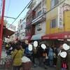 年末にコリアタウン、ミナミ大沢商店にはものすごい列ができていた。