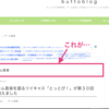 ブログカスタマイズ5【カテゴリーの記事一覧でカテゴリー名を消す】