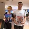 香港で人気タレント りえさんのブログに登場してしまいました!