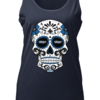 Charming Toronto Blue Jays sugar skull shirt