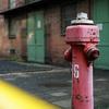 ズリーンの消火栓景 - チェコ