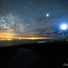 【天体撮影記第58夜】 北海道 北の最果ての離島天売島から撮る美しい天の川