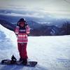 スノーボード@流葉スキー場+聖地巡礼?(2017年2月)