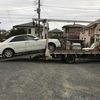 青葉区から車検の切れた不動車をレッカー車で廃車の引き取りしました。