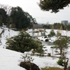 2021年雪景色「玉泉院丸庭園」