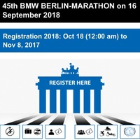 ベルリンマラソン2018エントリー方法