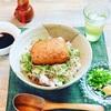 半熟親子ばくだんの薬味丼 #松澤蒲鉾アンバサダー