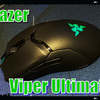 【Razer Viper Ultimate レビュー】つまみ持ちならこれ。高性能・軽量ワイヤレス【ゲーミングマウス】