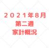 【資産公開】2021年8月第二週 5人家族の家計管理