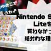 Nintendo Switch Lite発売、買わなかった絶対的な理由。スプラトゥーンには絶対据え置き機!