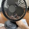 【VENKIM USB卓上扇風機 首振り機能】植物用のUSB扇風機を購入しました!