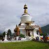メモリアルチョルテン(第三代国王記念仏塔)@ブータン