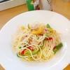彩り野菜のペペロンチーノ(外食)