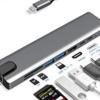 MacBook / MacBook Pro のUSBが足りないので、USB-C ハブ【レビュー】