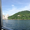 香港旅行四日目(6)。南丫島(ナムアトウ)の榕樹湾(ヨンシューワン)まで、短い船の旅