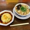 🚩外食日記(468)    宮崎ランチ   「のりのりらーめん」②より、【天津飯定食】‼️