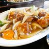 珍満虎居のスブタ定食はスープもたっぷり大満足@鹿児島県薩摩郡さつま町