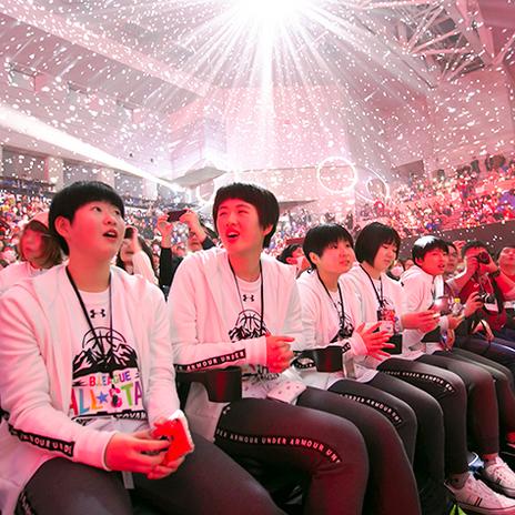 バスケットボール スター選手と夢の共演!「B.LEAGUE ALL-STAR GAME 2019 in TOYAMA」で「SoftBank 東北絆CUP」優勝チームが躍動