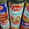 豆とトマトの缶詰
