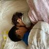 弟好きの長男5歳の昼寝