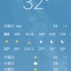 暑さに限界